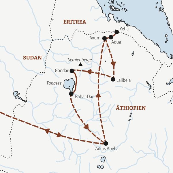 Äthiopien Rundreisen 2019/2020