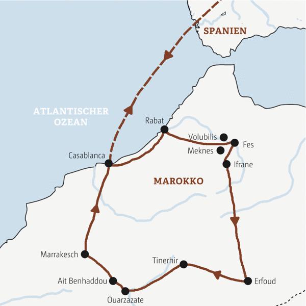 Marokko Rundreisen 2019/2020