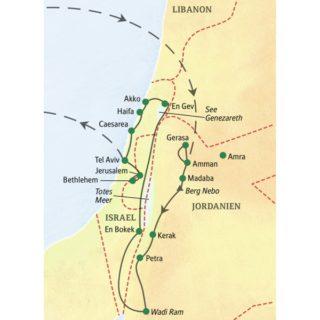Unsere ausführlichste Reise in den Nahen Osten