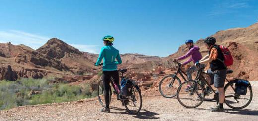 Radtour Gorge Du Dades - Klaus Hoffmann   erlebnisreisen-afrika.de