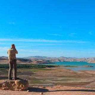 Aussichtspunkt im Mittleren Atlas - Nicole Kuhn | erlebnisreisen-afrika.de