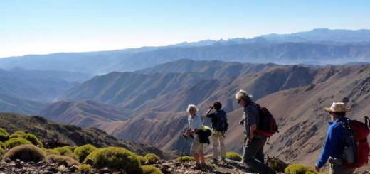 Wunderbarer Weitblick im Hohen Atlas - Diethard Berner | erlebnisreisen-afrika.de
