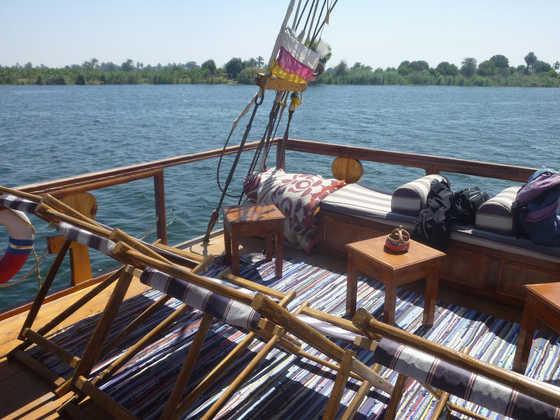 Auf dem Segelschiff Ankh - Jill Formella | erlebnisreisen-afrika.de