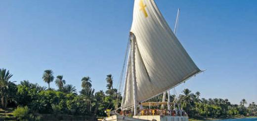 Segelschiff Ankh auf dem Nil - Sameh Milad | erlebnisreisen-afrika.de