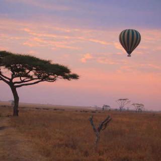 Sonnenaufgang - Stephanie Alphons | erlebnisreisen-afrika.de