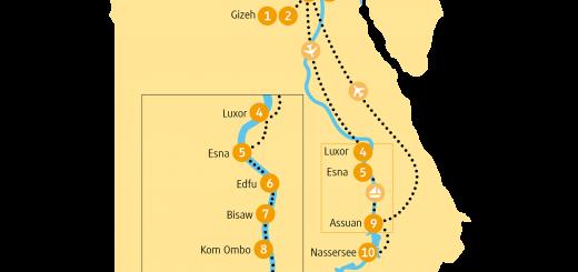 Rundreise Ägypten 2021 / 2022 | Erlebnisreisen-Afrika.de