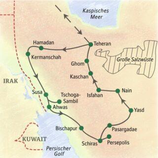 Unsere umfassendste Studienreise durch den Iran in 15 Tagen