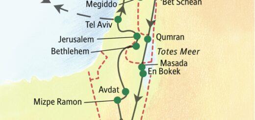 Unsere ausführlichste Studienreise nach Israel
